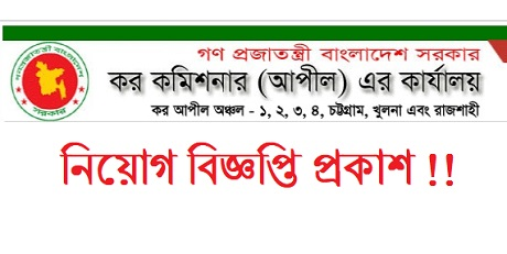 Income tax job circular