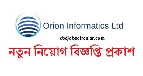 Orion Informatics Job circular